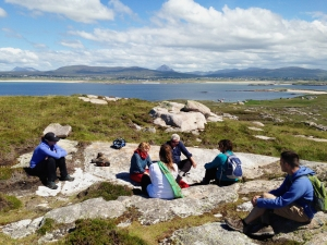 ireland writing retreat, gola island ferry