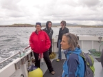 columbia hillen photographer, boat to gola island, donegal islands